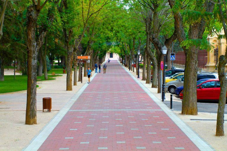 Paseo San Roque - Proyecto Pavimentos Guillen